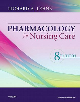 Pharmacology for Nursing Care, 8e-9781437735826-8-Richard A. Spears PhD-W. B. Saunders Company